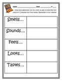 Creative Writing- Popcorn Adjectives