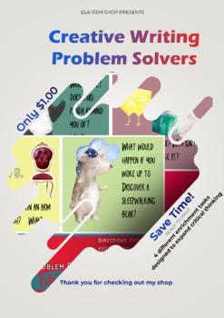 Creative Writing Problem Solvers #1: Instant Enrichment