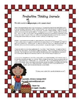 Creative Writing (Productive Thinking Journals) Superhero Style