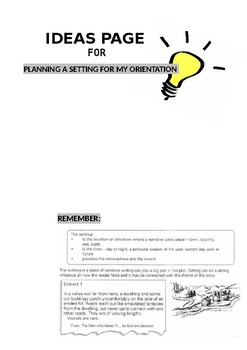 Creative Writing Progress Portfolio