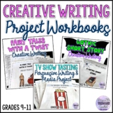 Creative Writing Project Workbooks Bundle