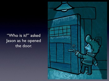 Illustrated Writing Prompt - Knocks in the Night