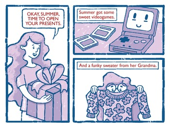 Illustrated Writing Prompt - Summer's Special Toaster