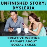 Story Starter Creative Writing Prompt: Dyslexia