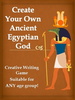 Creative Writing Prompt game - Ancient Egyptian Gods