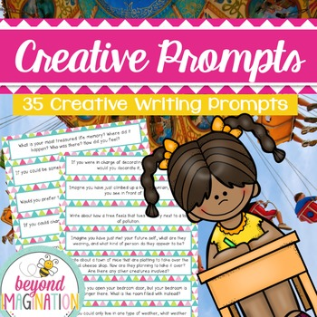 Creative Writing Prompts | 35 Inspirational Prompts to Spark Creative Thinking