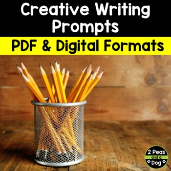 Creative Writing Prompts and Activities Distance Learning