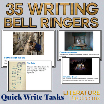 Creative Writing Prompts / Bell Ringers