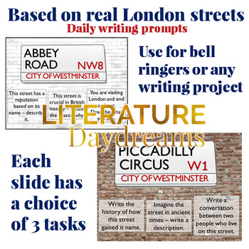 Creative Writing Prompts based on London Street names
