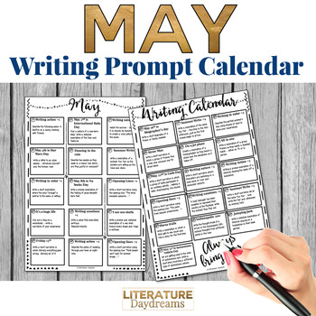 Creative Writing Prompts for May