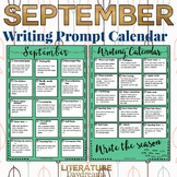 Back to School Creative Writing Prompts for September