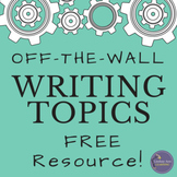 Creative Writing Prompts FREE Resource