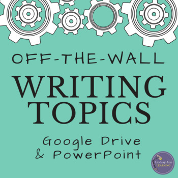 Creative Writing Prompts Digital Resource for Middle and High School Students