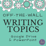 200 Creative Writing Prompts for Google Drive & PowerPoint