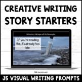 Creative Writing Prompts - Digital Story Starters - Distan