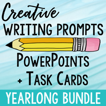 Creative Writing Prompts Yearlong Bundle
