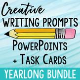 Creative Writing Prompts Yearlong Bundle