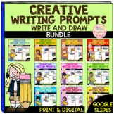 Creative Writing Prompts Growing Bundle – Write and Draw