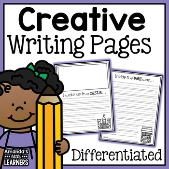 Creative Writing Prompts - With Editable Option