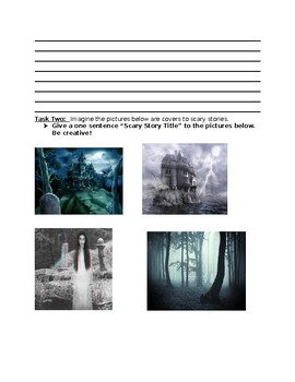 Creative Writing Prompts & Worksheets