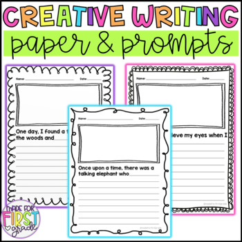 Creative Writing Prompts: Writing Paper