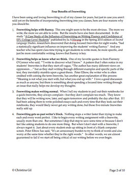 Creative Writing Prompts for High School Kids/ Daily Prompts