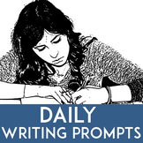 No Prep Bellringer Creative Writing Prompts with Revision Checklist