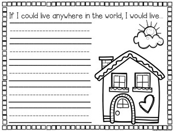 Creative Writing Prompts (for Kindergarteners)