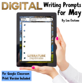 Creative Writing Prompts for May (Digital & Print)