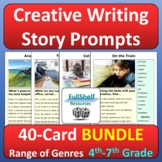 Creative Writing Prompts with Pictures Story Starters BUNDLE