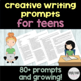 Creative Writing Quick Writes and Prompts