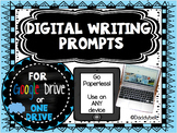Creative Writing REAL LIFE pictures - DIGITAL activities -
