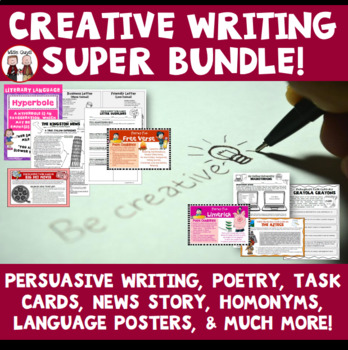 Creative Writing Resources Bundle