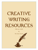Creative Writing Resources Packet