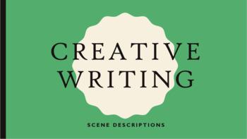 Creative Writing - Scene Description Lesson Plan