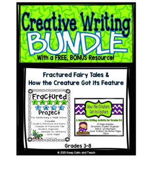 Creative Writing Set with Rubrics + BONUS resource
