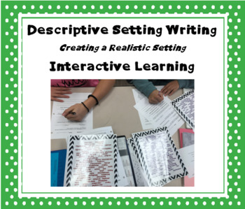Creative Writing:  Setting Activity