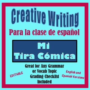 Spanish Creative Writing Activity - Spanish or Other  - Mi