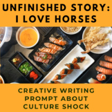 Story Starter Creative Writing Prompt: I Love Horse(s)