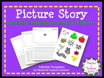Creative Writing with Clipart - Great Writing Center Activ
