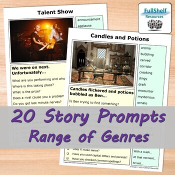 Story Starters With Pictures