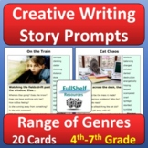 Creative Writing Story Prompts (Dyslexia Friendly)