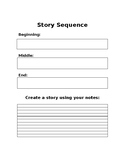 Creative Writing Story Sequence
