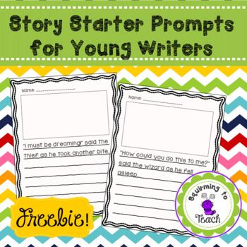 Creative Writing Story Starter Freebie