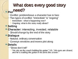 Creative Writing: Storytelling Techniques