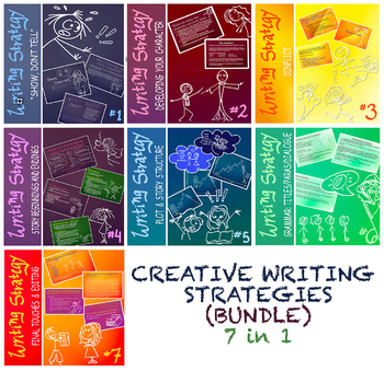 Creative Writing Strategies 1-7 (BUNDLE)