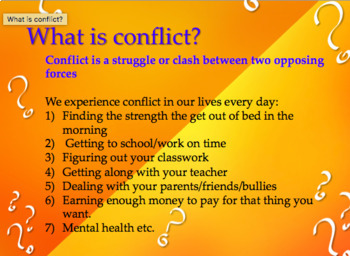 Creative Writing Strategies 3: Conflict