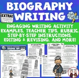 Biography Writing Activity News Story