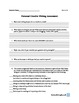 Creative Writing Student Self-Assessment and Class Expecta
