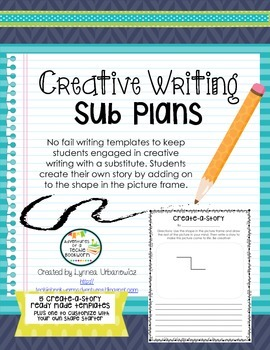 Creative Writing Sub Plans: Create-a-Story